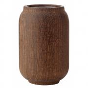 applicata - Poppy Vase Mittel   Eiche geräuchert