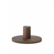 applicata - Simplicity Candleholder Small | Smoked Oak