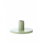 applicata - Simplicity Candleholder Small | Beech Vintage Green