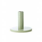 applicata - Simplicity Candleholder Large | Beech Vintage Green