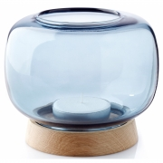 applicata - Hurricane Tealight Holder Maxi | Blue