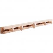 applicata - TRACK Coat Rack Medium | Natural Oak