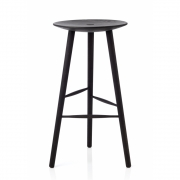 applicata - Di Volo Bar Stool 75 cm | Stained Beech