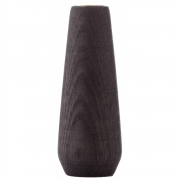 applicata - Torso Candle Holder Large | Stained Oak