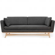 Red Edition - Fifties 210 Sofa Chiné - Anthrazit