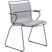 Houe - Click Dining Armchair Grey | Low