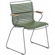 Houe - Click fauteuil Vert olive | Bas