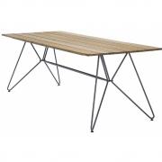 Houe - Sketch Outdoor Tisch Bambus - 220 x 88 cm