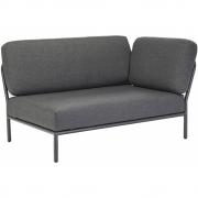 Houe - Level Lounge Sofa Rechte Ecke Dunkelgrau