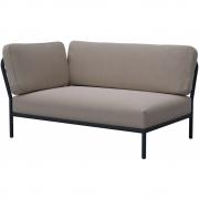 Houe - Level Lounge Sofa Linke Ecke Aschiges Weiß