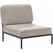 Houe - Level Lounge Sessel Graumelkreide