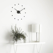 Nomon - OJ mini Wall Clock Mustard