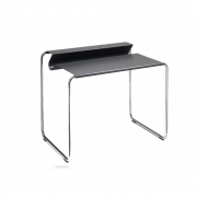 Müller Möbelfabrikation - PS07 Secretary Table Black | Chrome