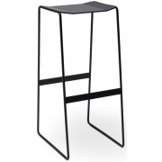 Müller Möbelfabrikation - Martino Bar Stool, Black