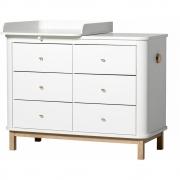 Oliver Furniture - Wood Wickelkommode mit Schubladen und Wickelplatte