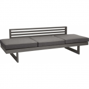 Stern - Holly Bench / Lounger Graphite / Slate Grey