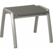 Stern - Porto Stacking Stool Graphite / Silver Grey