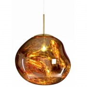 Tom Dixon - Melt lampe à suspension Or