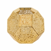 Tom Dixon - Etch Tea Light Holder Brass | Dots