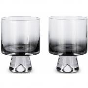 Tom Dixon - Tank Low Ball Glas (2 Stk.) Schwarz