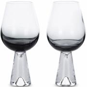 Tom Dixon - Tank Weinglas (2 Stk.) Schwarz