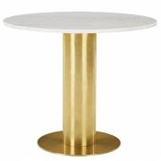 Tom Dixon - Tube Tisch mit Marmorplatte
