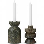 Tom Dixon - Rock Candle Holder Medium (Set of 2)