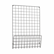 House Doctor - Mesh Noticeboard Black