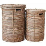 House Doctor - Chaka Laundry Baskets (Set of 2)