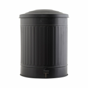 House Doctor - Matt Garbage Bin 49 L | Black