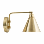 House Doctor - Game Wall Lamp Short | Gold