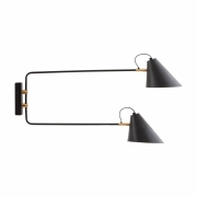 House Doctor - Club Wall Lamp Double
