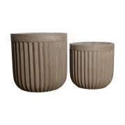 House Doctor - Concrete Planter (Set of 2 Sizes)