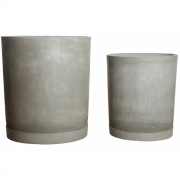 House Doctor - Hook Planter (Set of 2) Grey