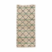 House Doctor - Green Geometry Rug