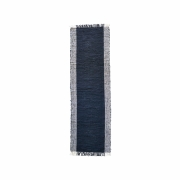 House Doctor - Cindi Rug 240 x 70 cm | Black / Natural