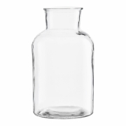 House Doctor - Glass Vase Ø 17 cm, H: 30 cm