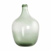 House Doctor - Rec Vase Ø 20 cm, H: 29 cm - Hellgrün