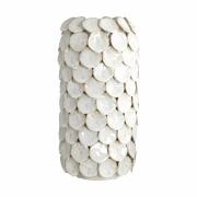 House Doctor - Dot Vase weiß 30 cm