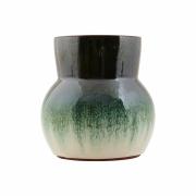 House Doctor - Flower Vase Grün/Weiß
