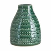 House Doctor - Circles vase H: 19 cm - Vert
