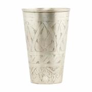 House Doctor - Lassi Vase Ø 8 cm, H: 12 cm | Silber