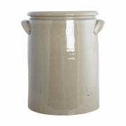 House Doctor - Pottery Blumentopf XL   Sand