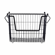 House Doctor - Taw Basket Large | Black