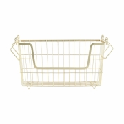 House Doctor - Taw Basket Small   Gold
