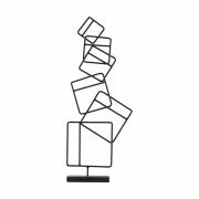 House Doctor - Squares Skulptur