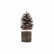 House Doctor - Pine Cones on a Stand (Set of 3)