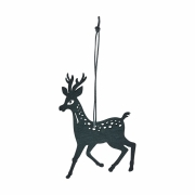 House Doctor - Reindeer Ornaments (Set of 8)