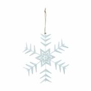 House Doctor - Crystal Ornamento (conjunto de 2) Medió