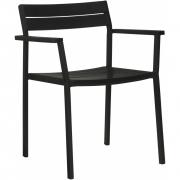 Case Furniture - Eos Armlehnenstuhl Schwarz